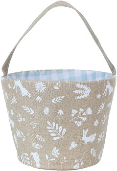 Easter-Bunny-Linen-Basket on sale