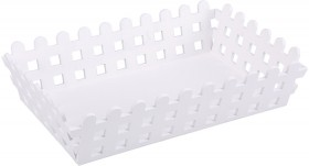 White-Picket-Fence-Crate on sale