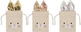Bunny-Fabric-Treat-Bag on sale