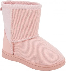 Junior-Slipper-Boots-Pink on sale