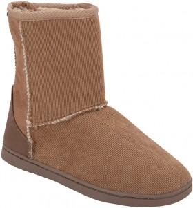 Senior-Slipper-Boots-Brown on sale