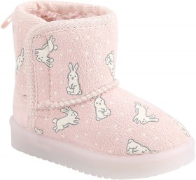Baby-Light-Up-Slipper-Boots-Bunny on sale