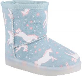 Junior-Light-Up-Slipper-Boots-Unicorn on sale