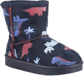 Junior-Light-Up-Slipper-Boots-Dinosaur on sale