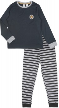 Kids-Ribbed-Pyjama-Set-Lion on sale