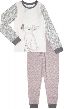 Kids-Skinny-Pyjama-Set-Bunny on sale