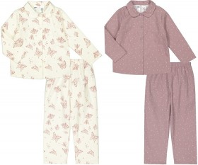 Girls-Flannelette-Pyjama-Sets on sale