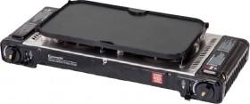 Gasmate-Two-Burner-Portable-Stove-with-Hotplate on sale
