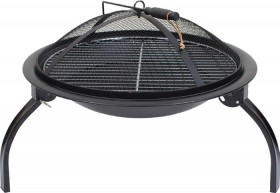 Firepit-with-Grill on sale
