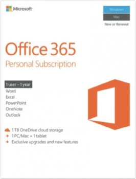 Microsoft-Office-365-Personal-Subscription-1YR-ESD on sale