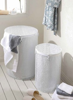 Mosaic-Laundry-Hampers-by-M.U.S.E on sale