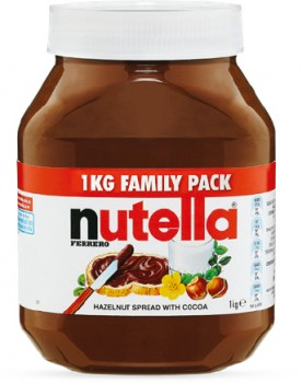 Nutella-Family-Pack-1kg on sale