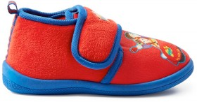 The-Wiggles-Boys-Car-Tab-Slipper-Red on sale