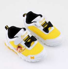 The-Wiggles-Infant-Girls-Light-Up-Shoes-Yellow on sale