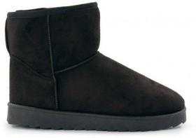 Brilliant-Basics-Womens-Outdoor-Slipper-Boots-Black on sale