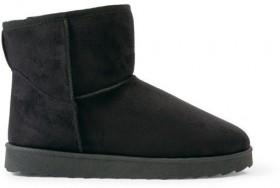 Brilliant-Basics-Mens-Outdoor-Slipper-Boots-Black on sale
