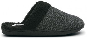 Brilliant-Basics-Mens-Outdoor-Scuff-Slippers-Charcoal on sale