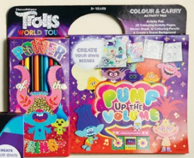 Trolls-World-Tour-Colour-and-Carry-Activity-Pad on sale