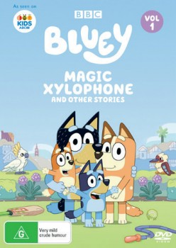 Bluey-Magic-Xylophone-And-Other-Stories-DVD on sale
