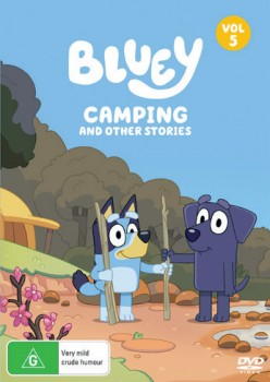 Bluey-Camping-And-Other-Stories-Volume-5-DVD on sale