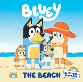 Bluey-The-Beach-A-Lift-the-Flap on sale