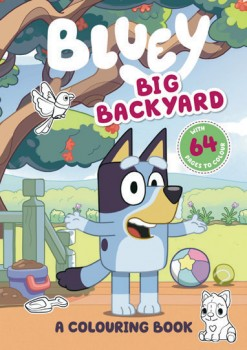 NEW-Bluey-Big-Backyard-A-Colouring-Book on sale