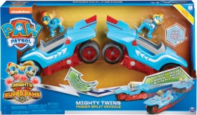 NEW-Paw-Patrol-Mighty-Pups-Mighty-Twins-Power-Split-Vehicle on sale