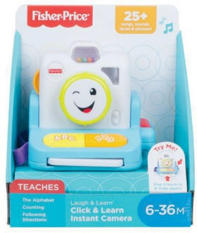 Fisher-Price-Click-Learn-Instant-Camera on sale