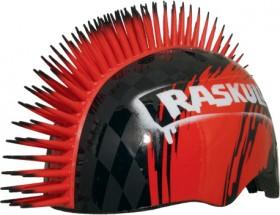 Raskullz-Mohawk-Helmet-RedBlack on sale