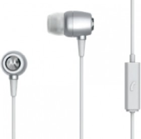 Motorola-Metal-Earbuds-with-Mic-Silver on sale
