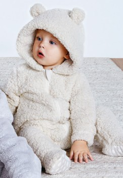 Dymples-Fluffy-Coverall-Natural on sale