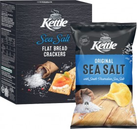 Kettle-Potato-Chips-175g-or-Flat-Bread-Crackers-150g on sale
