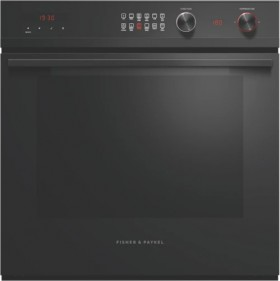 Fisher-Paykel-60cm-Pyrolytic-Oven-Black on sale