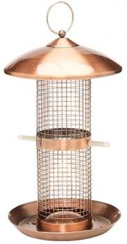 Watson-Williams-Nut-Suet-Metal-Bird-Feeder-Copper-30cm on sale