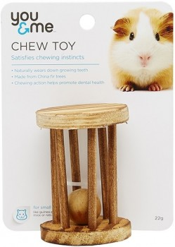 You-Me-Wheel-With-Ball-Small-Pet-Toy-Wood on sale