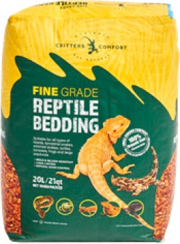 Critters-Comfort-Fine-Organic-Coco-Reptile-Bed on sale