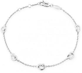 Knot-Bracelet-in-Sterling-Silver on sale