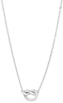 Knot-Necklace-in-Sterling-Silver on sale