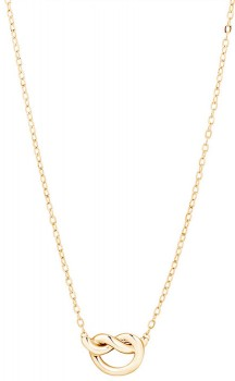 Knot-Necklace-in-10ct-Yellow-Gold on sale
