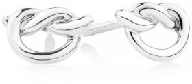 Knot-Stud-Earrings-in-Sterling-Silver on sale