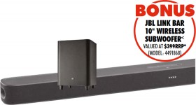 JBL-Link-Bar-Android-TV-Soundbar on sale