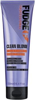 Fudge-Clean-Blonde-Violet-Toning-Conditioner-250mL on sale