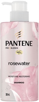 NEW-Pantene-Pro-V-Blends-Rosewater-Moisture-Restoring-Shampoo-300ml on sale