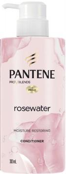 NEW-Pantene-Pro-V-Blends-Rosewater-Moisture-Restoring-Conditioner-300mL on sale