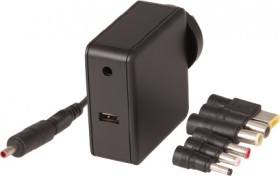 65W-Universal-Laptop-Power-Supply-with-USB-Socket on sale