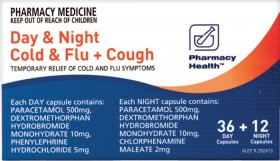 Pharmacy-Health-Day-Night-Cold-Flu-Cough-48-Capsules on sale