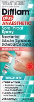Difflam-Plus-Anaesthetic-Sore-Throat-Spray-Watermelon-Flavour-225-Sprays on sale