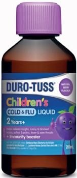 Duro-Tuss-Childrens-Cold-Flu-Liquid-2-Years-200mL on sale