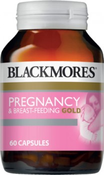 Blackmores-Pregnancy-Breast-Feeding-Gold-60-Capsules on sale