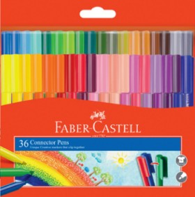 Faber-Castell-36-Pack-Connector-Pens on sale
